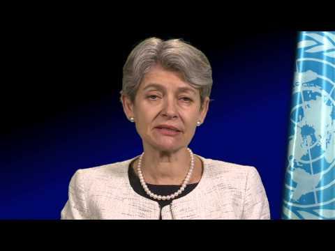 UNESCO Director-General, Irina Bokova, opens the 3rd World Humanities Forum