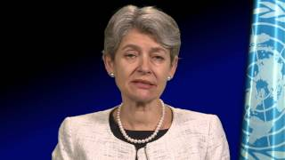 UNESCO Director-General, Irina Bokova, opens the 3rd World Humanities Forum