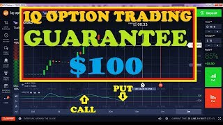 IQ OPTION trading guarantee || get $100 in 5 minutes using CCI indicator