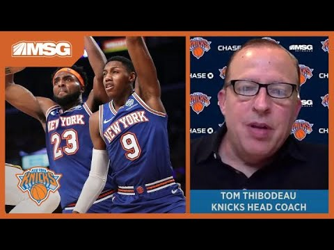 Tom Thibodeau: Developing Knicks Youth Is Most Important Thing | New York Knicks