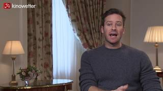 Baixar Interview Armie Hammer ON THE BASIS OF SEX