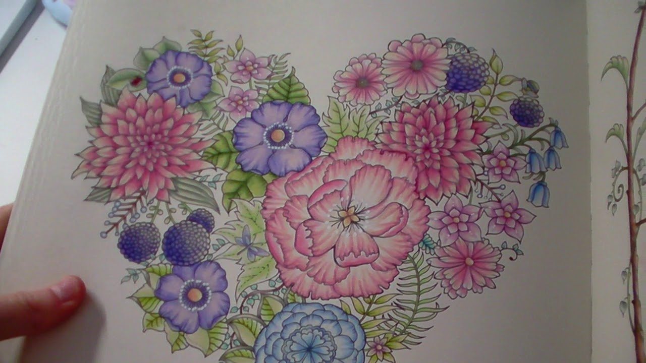 World of Flowers Colouring Book: 13% Completed!