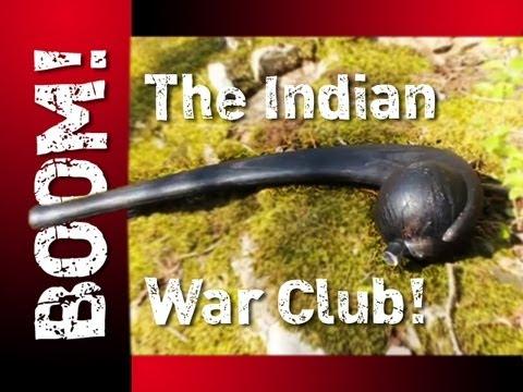 ZOMBIE Skull Crusher The INDIAN WAR CLUB!