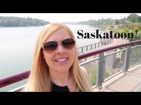 It Happened! I Fell In Love With The City Of Saskatoon | Travel Vlog