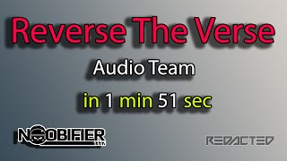 RTV in 1 Min 51 Sec - Hanging with the Audio Team - Star Citizen