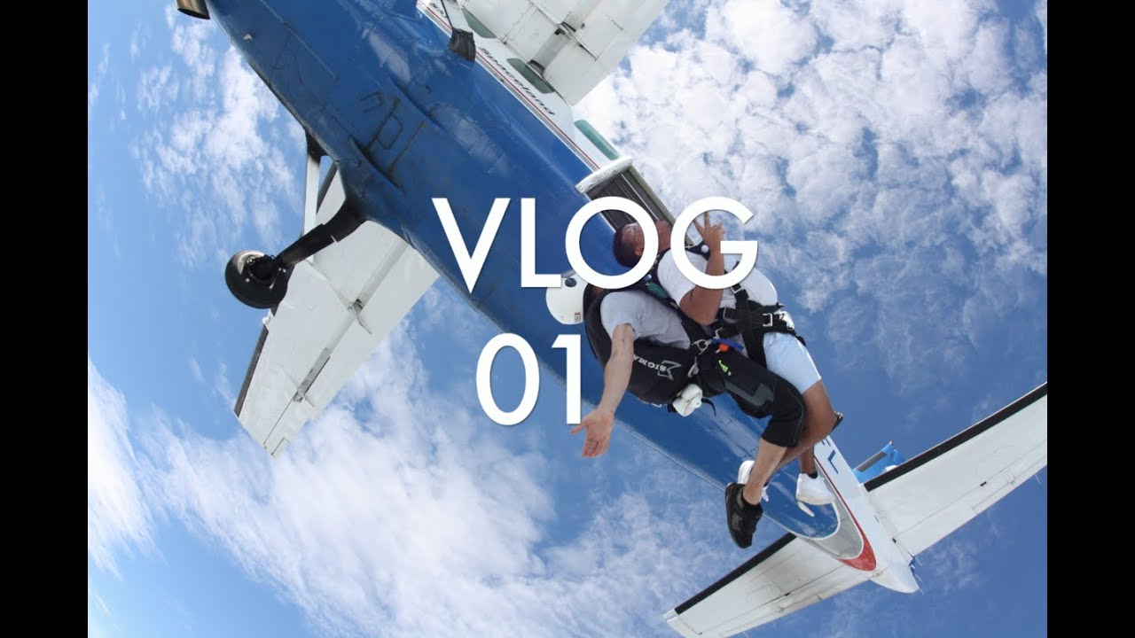 Im Getting My Skydiving Certification Vlog01 Youtube