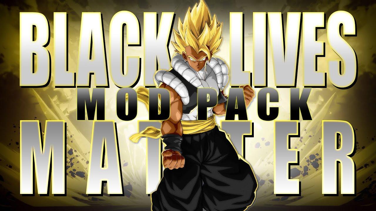 DBFZ: Black Lives Matter Mod Pack