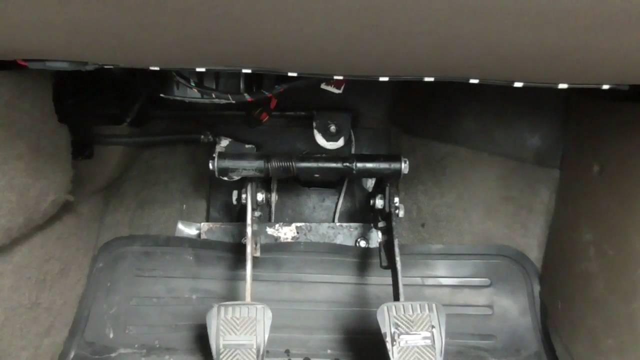 регулировка сцепления на фольксваген поло седан видео