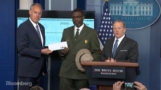 Trump Donates 1Q Salary to National Park Service