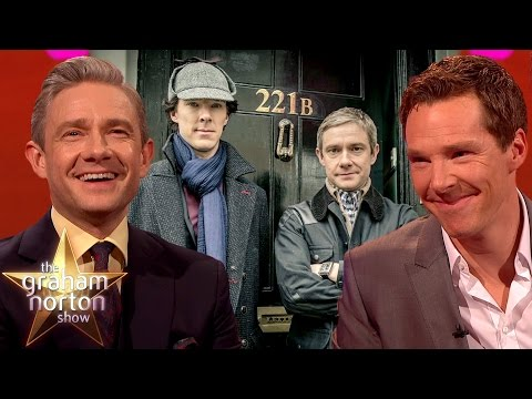 Elementary, My Dear Norton  Best of Benedict Cumberbatch & Martin Freeman on The Graham Norton