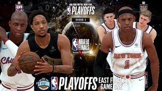 EASTERN CONFERENCE FINALS VS ... | KNICKS MYGM (EP.62) (NBA 2K18 PS4)