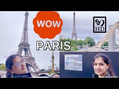 Eiffel Tower Tour  II Sukanya Telugu Vlogs