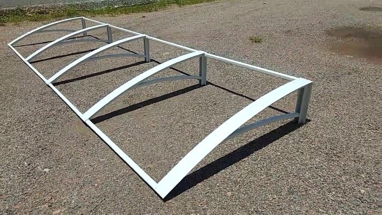 estrutura de toldo de alum nio para toldo de policarbonato