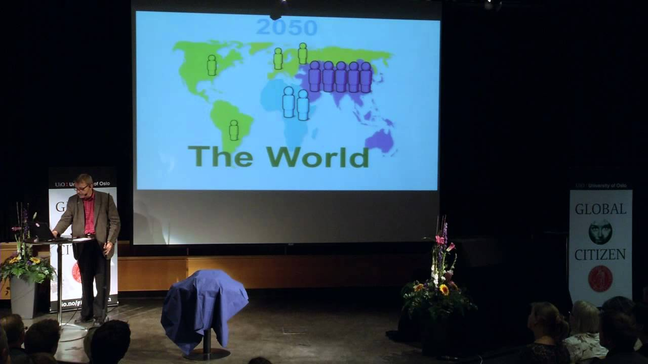 """Global Citizen: Hans Rosling at The University of Oslo: """"Fact Based World View"""""""