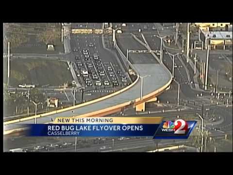 Flyover at Red Bug, SR 436 opens
