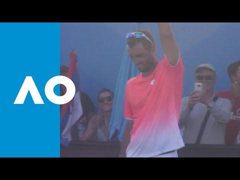 Viktor Troicki v Roberto Carballes Baena match highlights (1R) | Australian Open 2019.