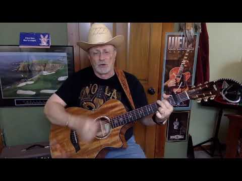 2335  - god only knows  - john prine cover -  vocal  - acoustic guitar & chords