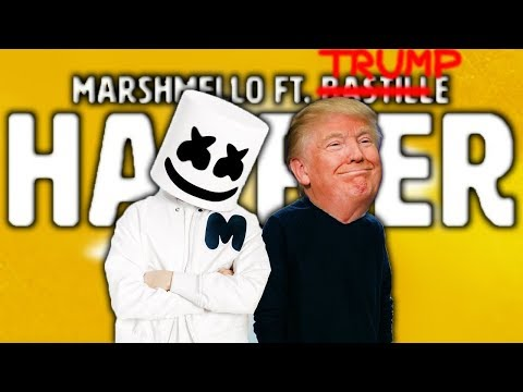 Marshmello ft. Donald Trump - Happier