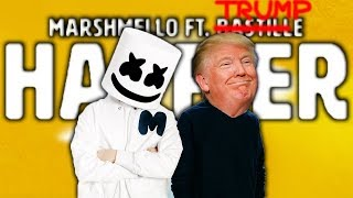 Marshmello ft. Donald Trump - Happier