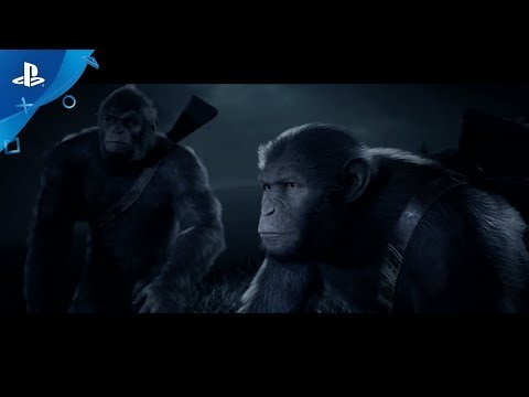 Planet of the Apes: Last Frontier - Announcement Trailer | PS4