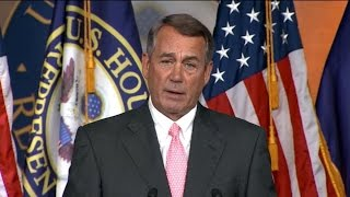 House Speaker Boehner to Resign Oct. 30