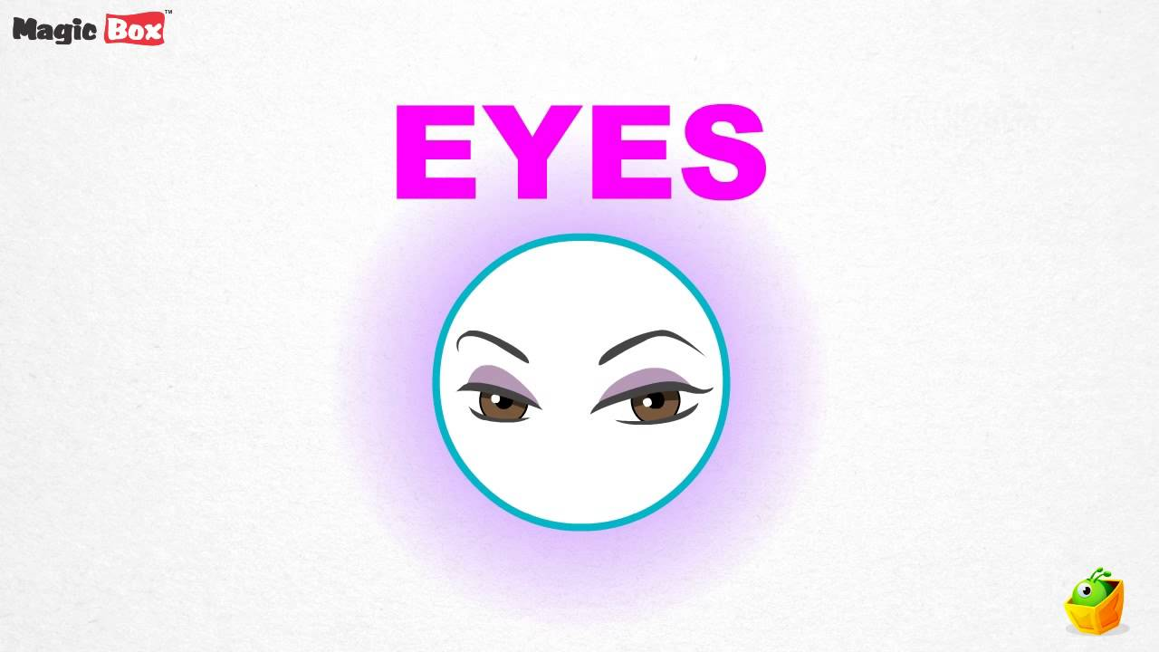 Eye - Body Parts - Pre School - Learn Spelling Videos For Kids - YouTube