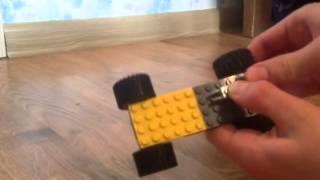 как сделать из лего катапульту