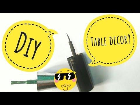 Best use of waste nail polish bottle cap idea | #DIY #CRAFT #RECYCLE #ART | LOVELY GLITTER
