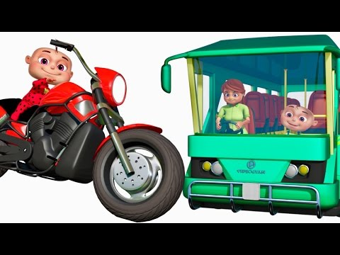 Thumbnail: Five Little Babies Visiting Vehicles Showroom | Cartoon Animation Collection | Zool Babies