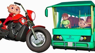 five little babies visiting vehicles showroom   cartoon animation collection   zool babies
