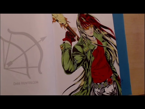 Color And Kiki Sherrilyn Kenyon S Dark Hunters Coloring Book And