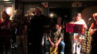 Wirral Ukulele Orchestra FEATURING Gerald William - Leaning On A Lampost (George Formby cover)
