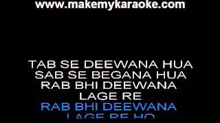 Jab Se Tere Naina - Saawariya - karaoke by sameer gehani)