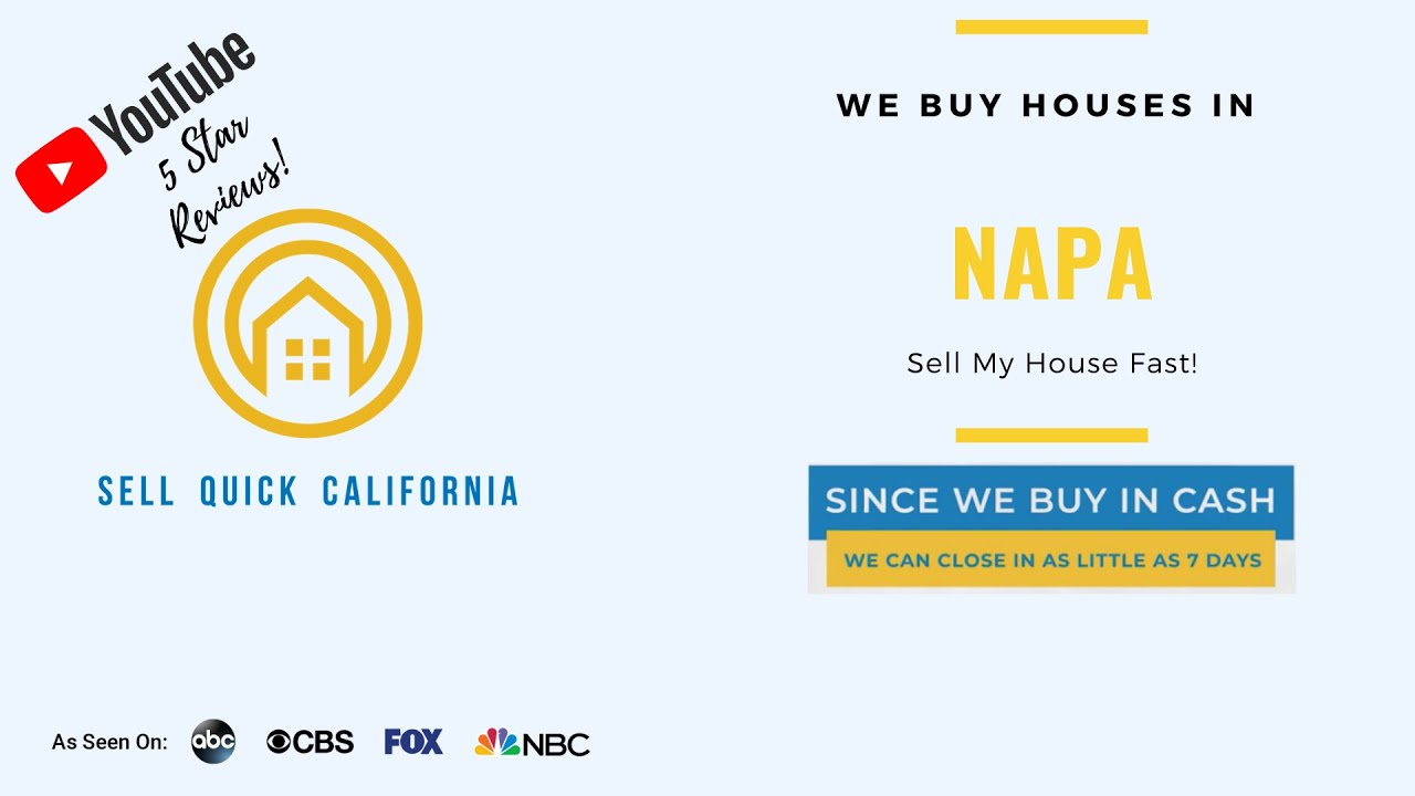 We Buy Houses In Napa California [Real Estate Investor Property Walk Through]