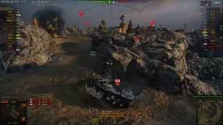 AMX 50 100 gameplay - Ace Tanker - World of Tanks - 9.9 XVM mod pack