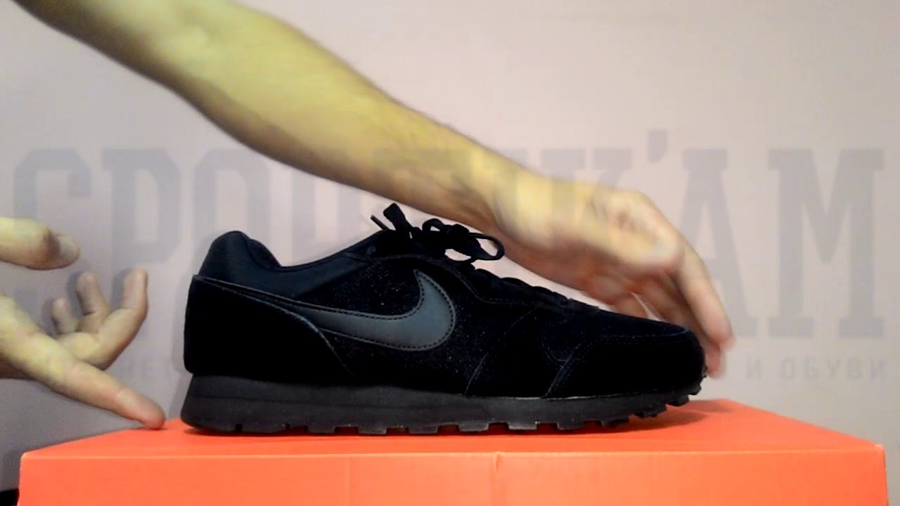 Мужские спортивные кроссовки Nike Huarache Utility Black Red - YouTube