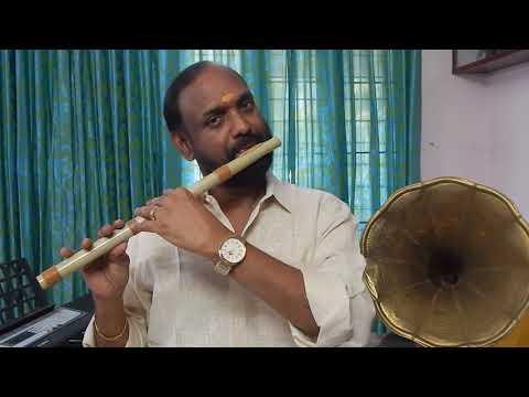 """RAGAMURALI"" Ragam Desh ""Shankupushpam Kannezhuthumbol"" Flute P R Murali"