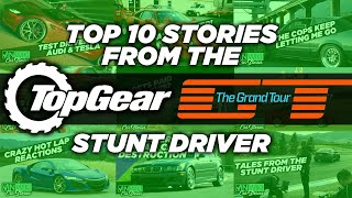 The Top Gear/Grand Tour Stunt Driver's Top 10 Car Stories