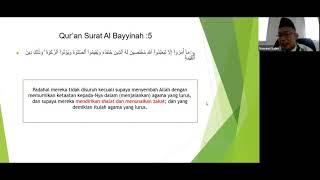 Materi Ii - Kelas X & Xi - Hari Ii - Pesantren Ramadhan 1441 H
