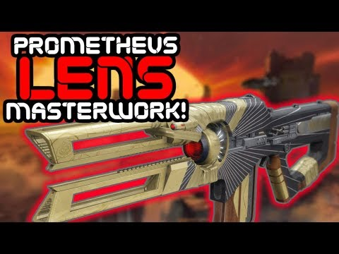 Destiny 2 - Prometheus Lens Masterwork Challenge Guide, Stats, and Review!! thumbnail