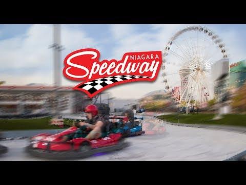 The Niagara Speedway, Go-Karting on Clifton Hill, Niagara Falls, Canada