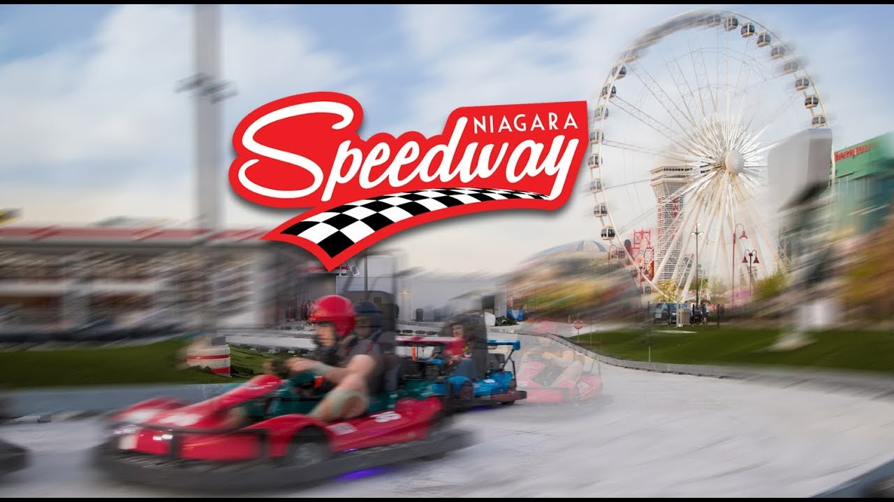 Speed Way The Niagara Speedway Go Karting On Clifton Hill Niagara Falls Canada