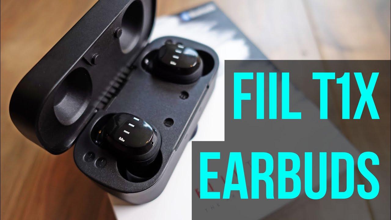 Best Wireless Earbuds Under 50 Fiil T1x True Wireless Earbuds Review Youtube
