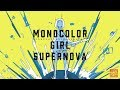 モノカラーガールスーパーノヴァ〈単色背景+少女コンピ〉XFD