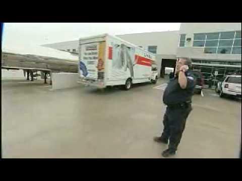 Border Patrol in Houston Hurricane