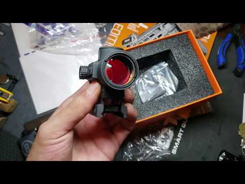 Bushnell TRS-26 RED DOT 1X26mm 3 MOA DOT (unboxing)