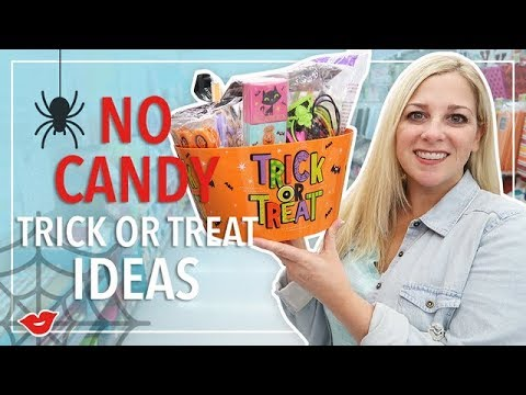 No Candy Trick Or Treat Ideas!  Kimmy from Millennial Moms