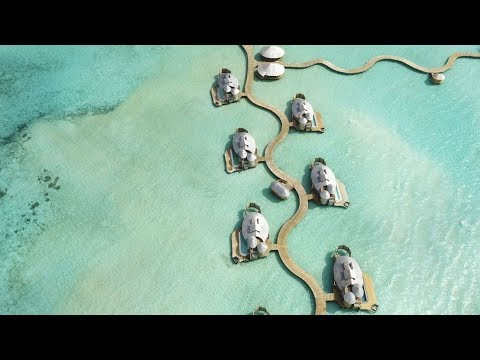 SONEVA JANI, BEST RESORT IN THE MALDIVES - 4K DRONE VIDEO