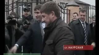Рамзан Кадыров за рулем мотоцикла
