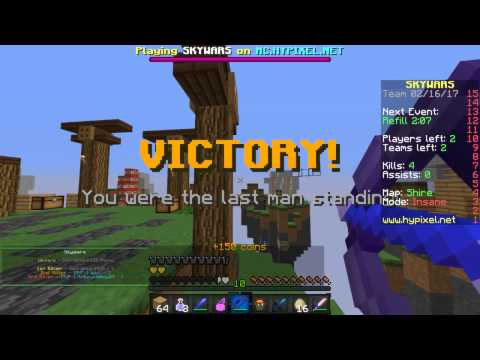 Minecraft Skywars #6 | MORE THAN 1 WIN!?!?!?